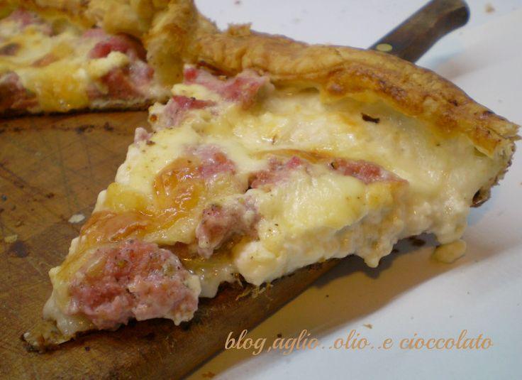Torta Rustica con Salsiccia e Stracchino!!! che dire favolosa!!! provatela ne vale la pena!!!