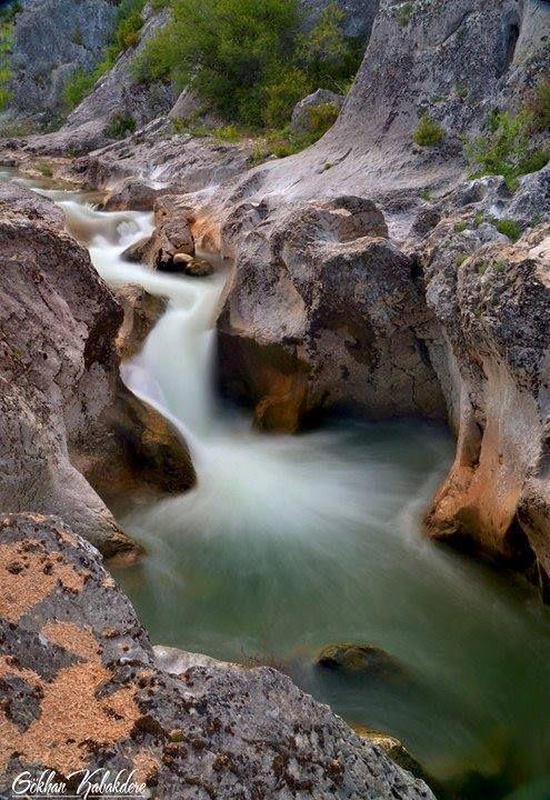 Küre Dağları Milli Parkı - Ilıca Şelalesi - Horma Kanyonu Fotoğraf: Gökhan Kabakdere