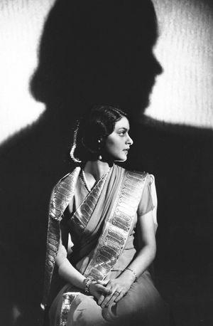 Maharani Gayatri Devi of Jaipur #spaces #indian #colour #culture #design #timeless #india #architecture #monochrome #woman #black #white