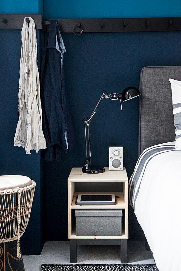 25 beste ideen over Blauwe slaapkamers op Pinterest