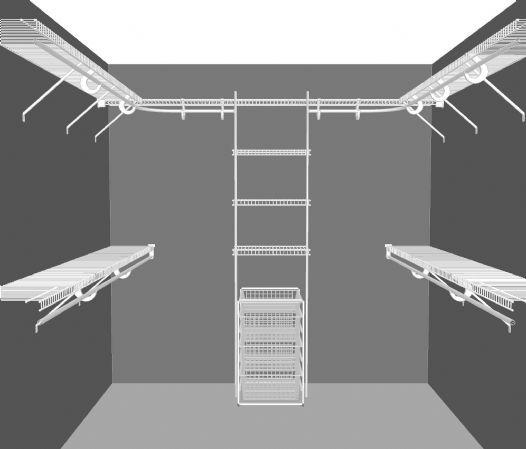 very small square walk in bedroom closet remodel | Small Square Closet Design Walk in closet layout 2,