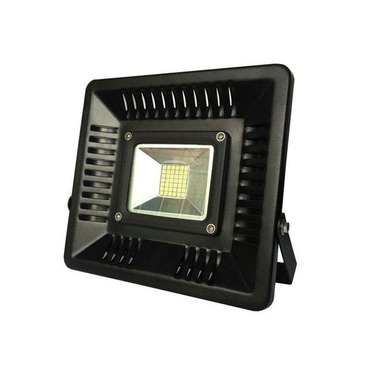 ΠΡΟΒΟΛΕΙΣ : ΠΡΟΒΟΛΕΑΣ LED 50W ΜΑΥΡΟΣ IP65 6500K SLIM N.147-69900
