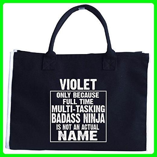 Violet Cos Multi-tasking Ninja Is Not An Actual Name - Tote Bag