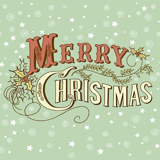 I just wanted to say Merry Christmas in case I didn't get the chance tomorrow! I hope y'all have the best day with your families! Love you both SO much!