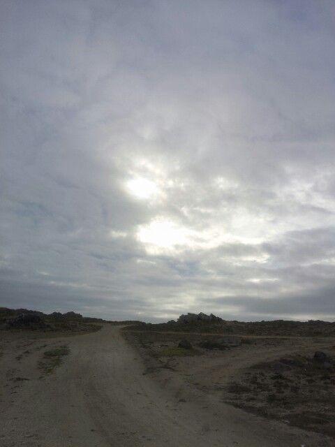 Una tarde placida en las cabañas Las Cubas de Cydonia Orilla de Mar Invierno chile!