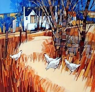 Scottish artist Joe Smernicki.