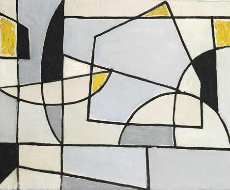 WC355 - Geometric Study - Caziel whitford fine art