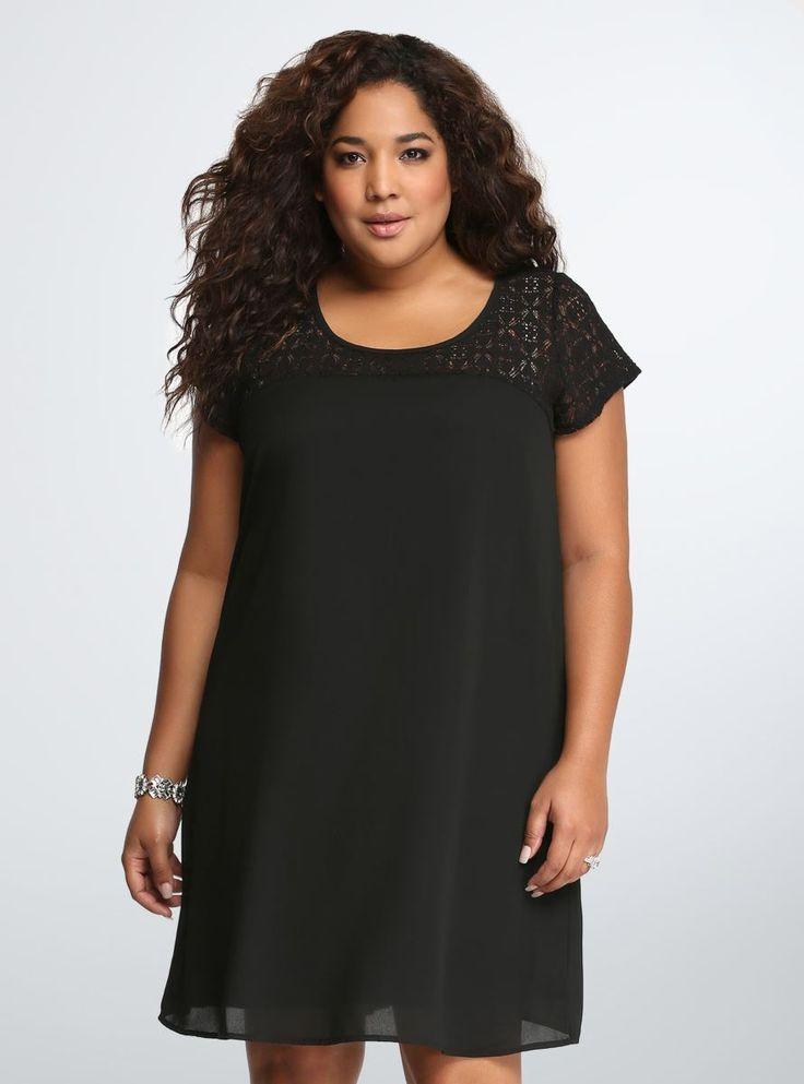 Black dress size 6x