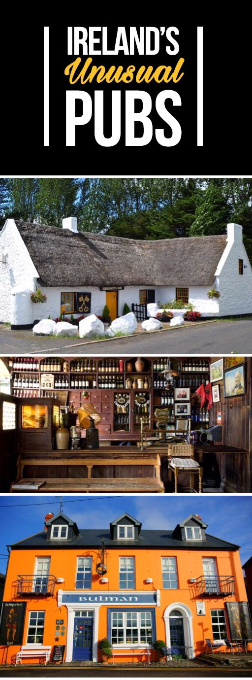 From a 1200-year-old watering hole to a cosy thatched inn, you'll never go thirsty on vacation to Ireland: our pubs are waiting to welcome you!