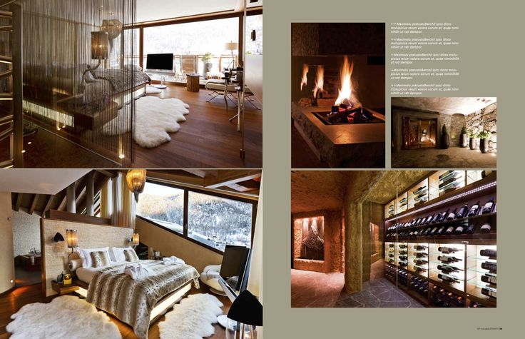 30 Degrees magazine featuring Chalet Zermatt Peak from December 2013