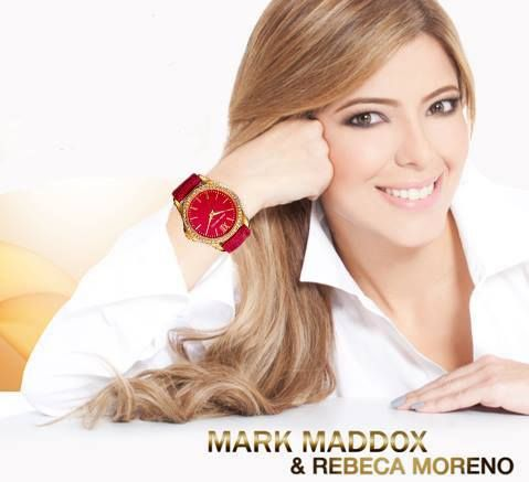 Mira la hora en un reloj con glamour como Mark Maddox Deep Shadow