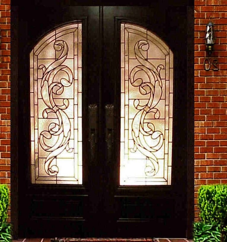 17 best images about double doors with sidelights on pinterest entry doors privacy glass and - Double front entry doors with sidelights ...