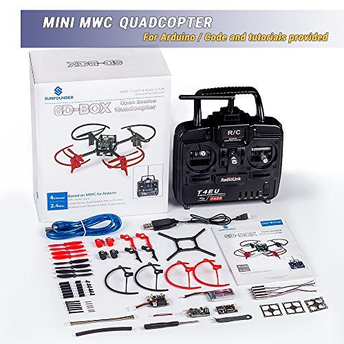 The product SunFounder RC Drone Quadcopter Kit 6 Axis Multiwii Flight Controller 6D-BOX for Arduino DIY Starter MWC With 2.4GHz RC Detail Manual  can be found at - http://drone-review.co.uk/product/sunfounder-rc-drone-quadcopter-kit-6-axis-multiwii-flight-controller-6d-box-for-arduino-diy-starter-mwc-with-2-4ghz-rc-detail-manual