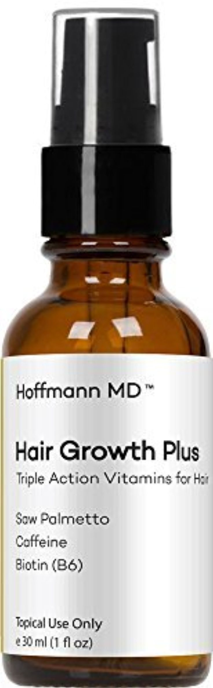 Hoffmann MD - Vitamins for Beard Growth Serum - Grow a Thicker Beard Naturally with Complete Beard Growth Nutrients | Drug Free and Oil Free (1 Ounce) by Hoffman MD -- Awesome products selected by Anna Churchill