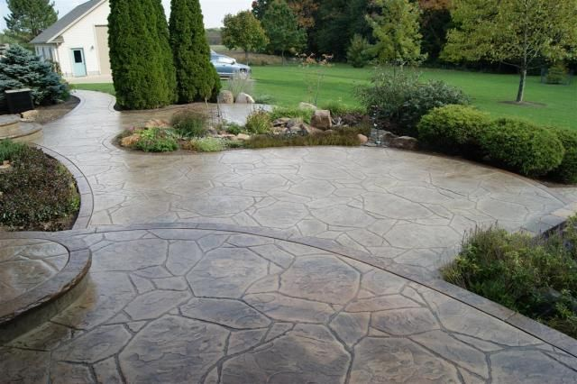 Arizona Flagstone Stamped Concrete Flagstone