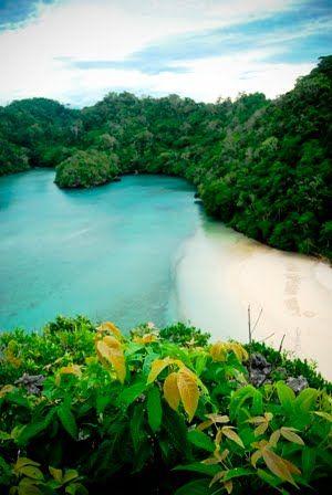 Sempu Island. Indonesia