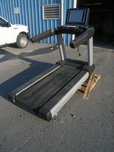 ProMaxima mdl S23T treadmill, s/n 2013-09-12, 120v, 50/60hz