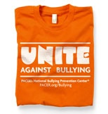 October is National Bullying Prevention Center - National Bullying Prevention Month.  Be kind to one another, prevent bullying.