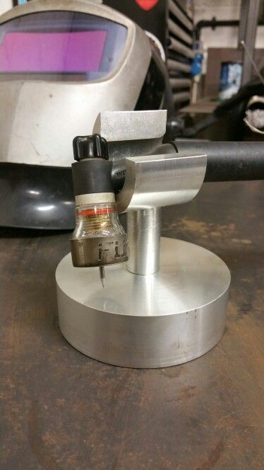 Tig torch holder and #fupa12 pyrextigcup