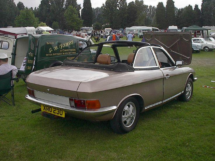Very Rare NSU ro8o coupe 2 door