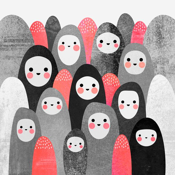 artwork by Elisabeth Fredriksson #illustration