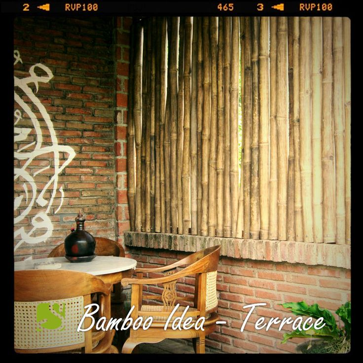 #Decor your #terrace with #bamboo to capture the #oriental atmosphere. Any thought? #sokokayu #ideas #roomdecor