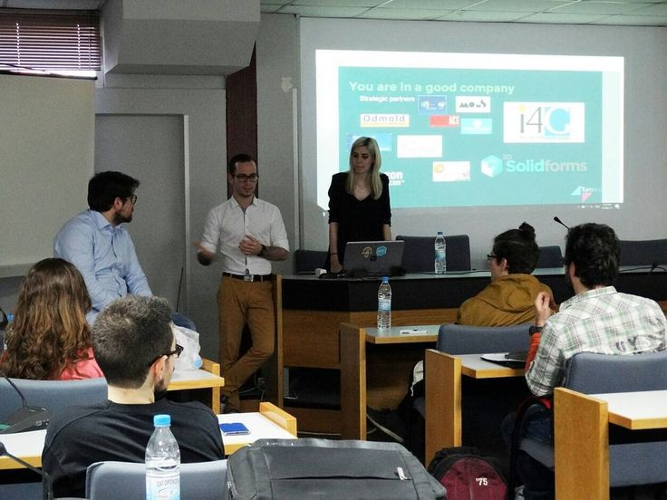 A full week leads to a full weekend.  First step for the week the presentation at The Triple Helix of Aristotle University of Thessaloniki. We shared thoughts and we received meaningful feedback! #triplehelix #domore #kickstarter #campaign