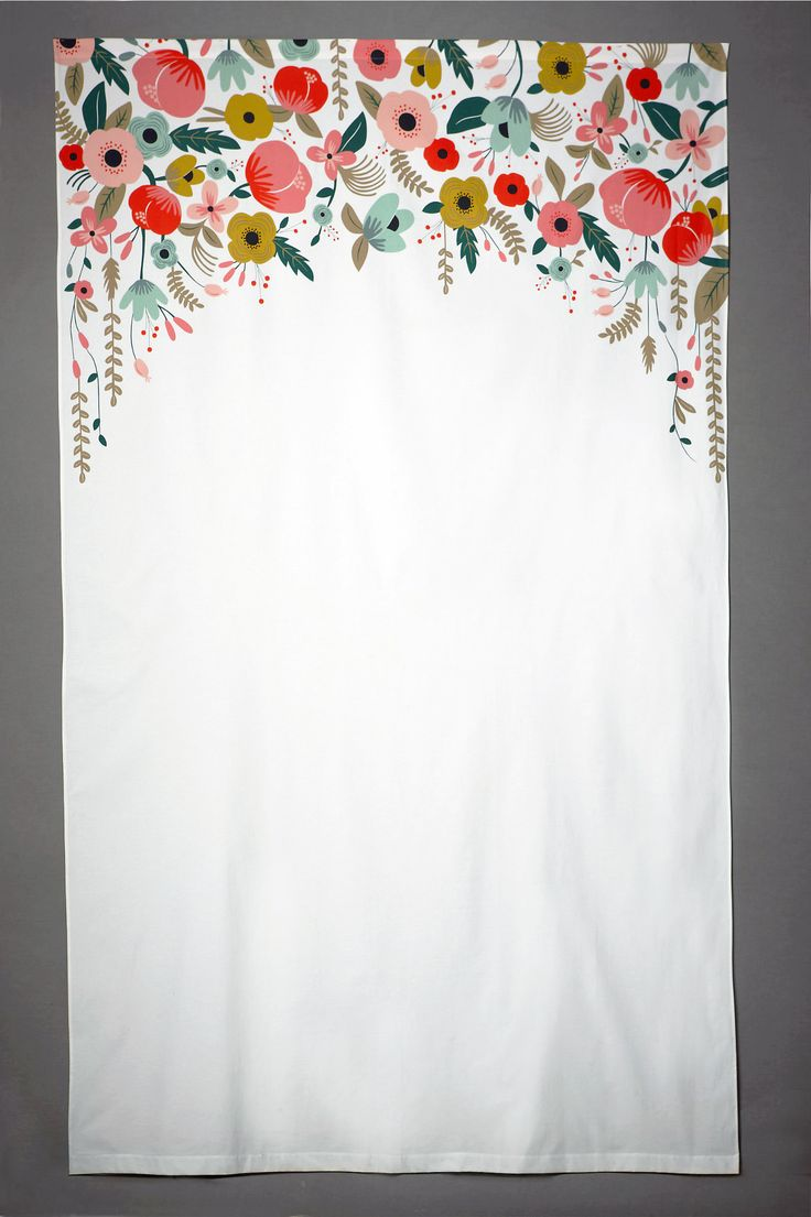 Painted Photobooth Backdrop - for a homemade photo booth?