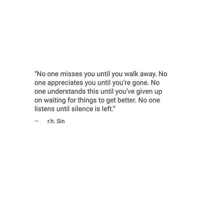 r.h.sin love this person whoever they are. Their writing speaks to me.