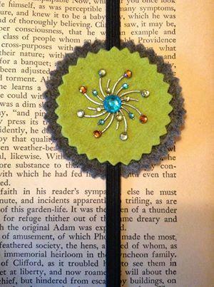 Bookmark by KateonPinsandNeedles on Etsy, $5.00