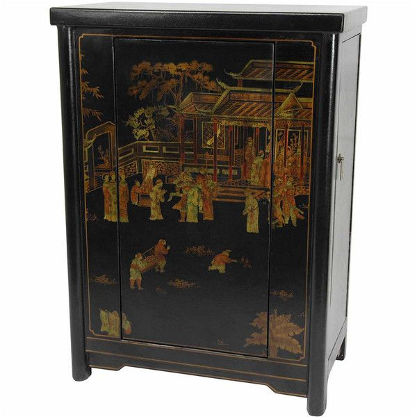 Oriental Furniture River Of Life TV Tray Table (235 CAD) ❤ liked on Polyvore featuring home, furniture, tables, oriental table, oriental furniture, oriental style furniture, asian table and asian inspired furniture