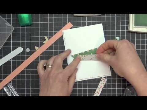 Got Scraps? Grab Your Paper Strips for a Great Card Layout - YouTube
