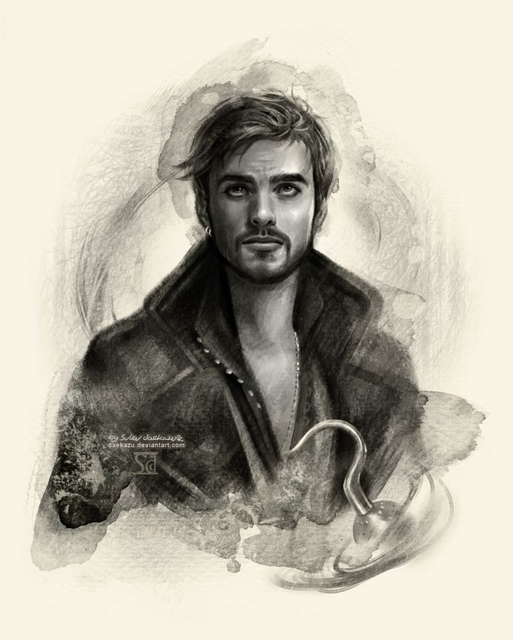 Captain Hook by `Daekazu. I never would've thought that I would find Capt Hook attractive.