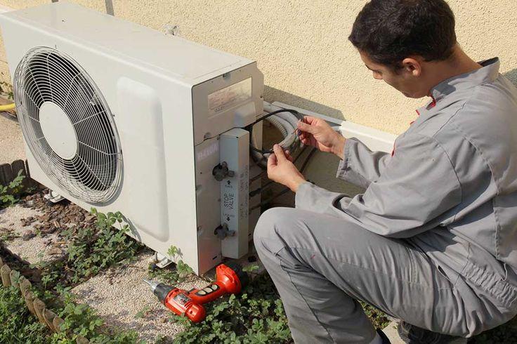 Entretien d'une pompe à chaleur : https://www.travauxbricolage.fr/travaux-interieurs/chauffage-climatisation/entretien-pac/