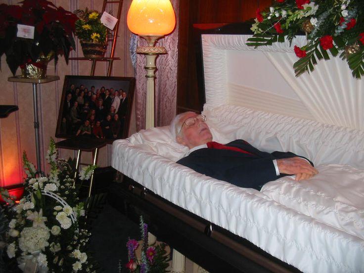 Open Redd Foxx Casket Funeral