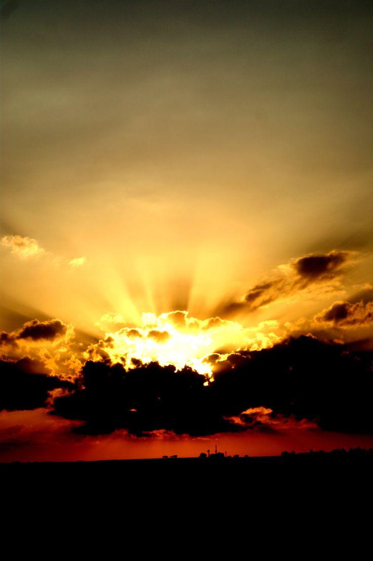 Sunset Pyla Cyprus