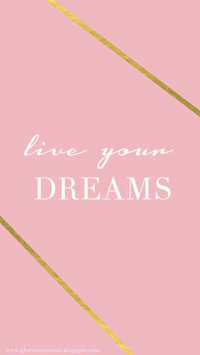 Dream in Pink and Gold