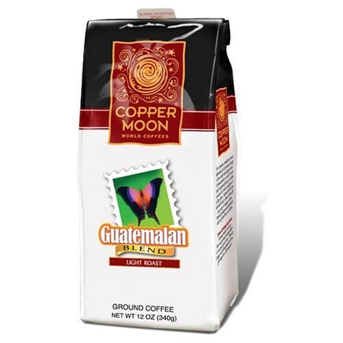 Copper Moon Guatemalan Coffee, Light Roast, Ground, « Lolly Mahoney