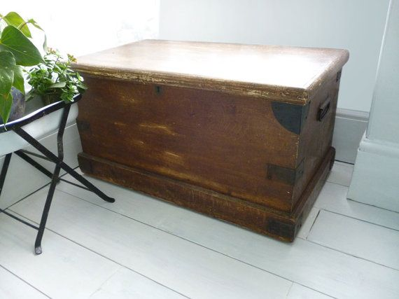 Coffee Table Trunk, Large Wooden Chest Big, Lovely, Useful.