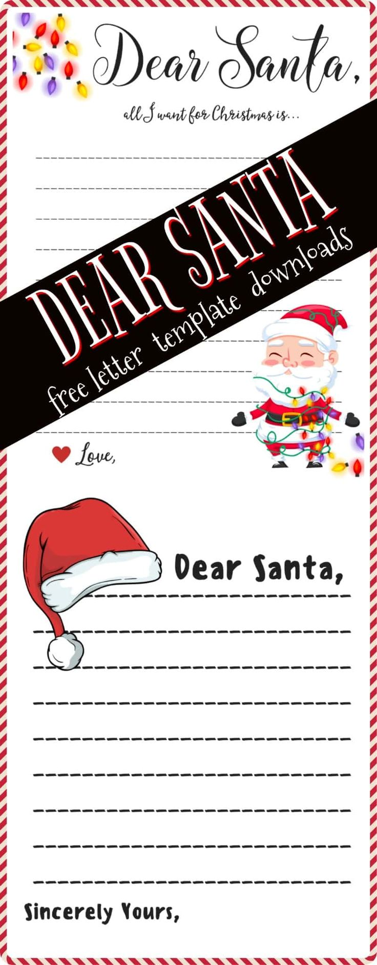 dear santa letter flickr photo 1353 best free printables amp downloads images on 670