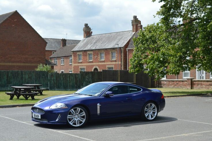 The XKR in Billingborough, June 2015