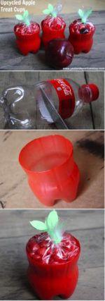 manualidades con botellas de Coca Cola 6