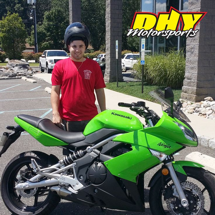 Congratulations to Matthew from #Franklinville #NJ on his purchase of this 2009 #Kawasaki #Ninja #650R Enjoy plenty of seat time. Thank you for making your purchase at #DHYMotorsports #mynewride #dhynj