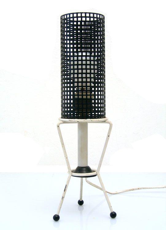 Pilastro, Tjerk Reijenga Sixties Retro Table Lamp