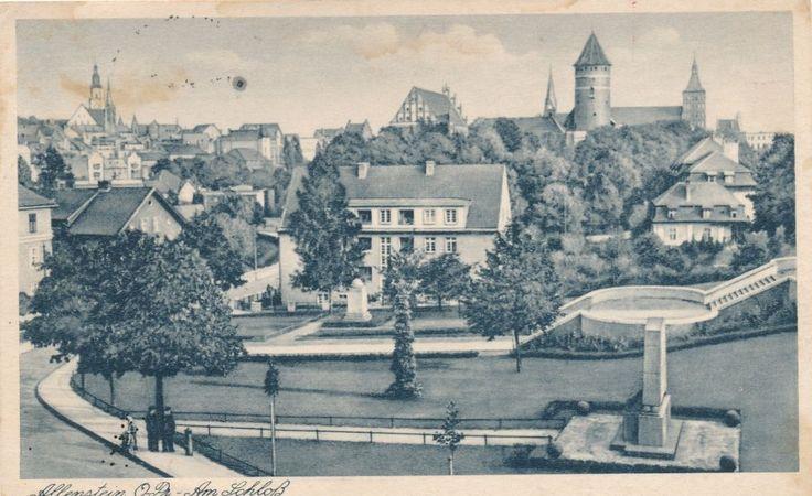 Allenstein-Olsztyn, Am Schloß, 1940,