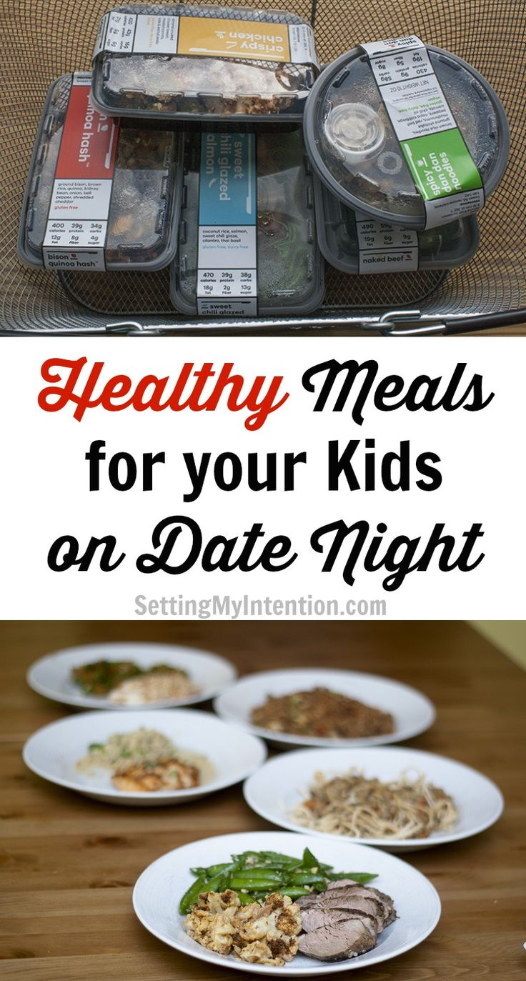 A great, healthy alternative to fast food for your kids when you go out for a date night and don't want to cook!