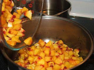 Canning Peach Salsa