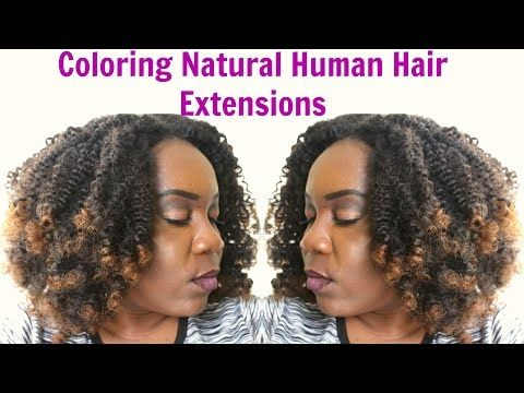 Colouring Xotica Hair Afro Kinky 4A/4B Review - YouTube