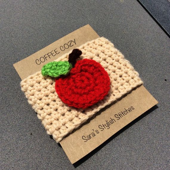 Hey, I found this really awesome Etsy listing at https://www.etsy.com/ca/listing/235051852/crochet-cozy-with-apple-apple-coffee