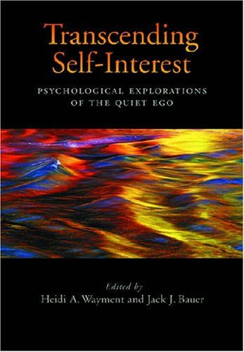 Transcending Self-interest: Psychological Explorations of... https://www.amazon.co.uk/dp/1433803402/ref=cm_sw_r_pi_dp_bWZmxbNG0EE7A